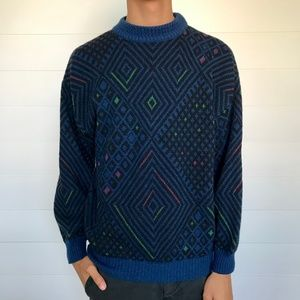 Vintage Made in Italy Wool Blend Sweater